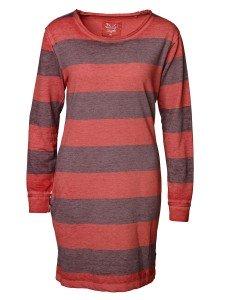 KATE: Damen Sweatshirtkleid mit Rundhalsausschnitt