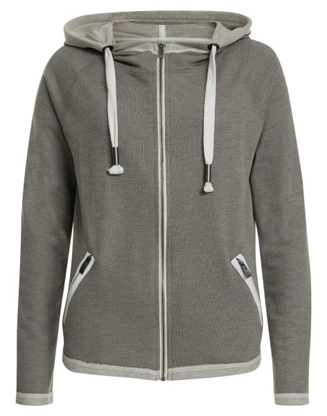 GREET: Damen Sweatjacke mit Kapuze