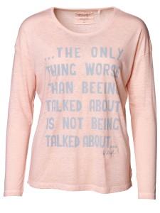 Damen Longsleeve Oversize überschnittene Schultern Rundhalsausschnitt_rosa_ nachhaltige mode online kaufen KÄTHE