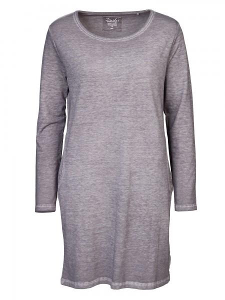 Damen_Kleid_seitliche Eingriffstaschen_Rundhalsausschnitt_nachhaltige_mode_online_kaufen_loft_HEIKE