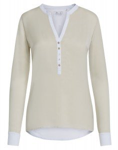 GIADA: Damen Longsleeve Blusenshirt