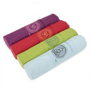 Yogatasche mit GANESHA oder OM-Print, aus Baumwolle