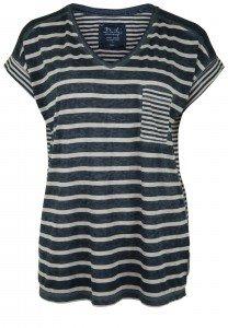 Damen_T-Shirt_oversized_Streifen_V-Ausschnitt_JANIKA_nachhaltige_mode_online_kaufen_Dailys_170147_Farbe dunkelblau