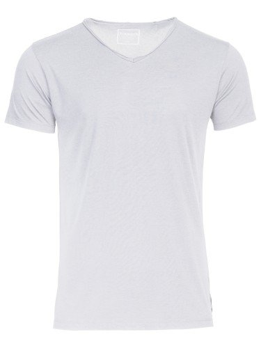 KENO: T-Shirt mit V-Ausschnitt