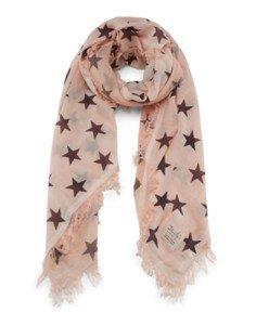 COCO STAR: Damen Schal aus 100% Biobaumwolle mit Sternen