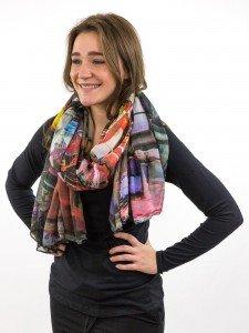 Damen Schal mit Fotoprint:Jacoba