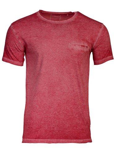 T-Shirt_Basic_Herren_Rundhalsausschnitt_HARDY_rot
