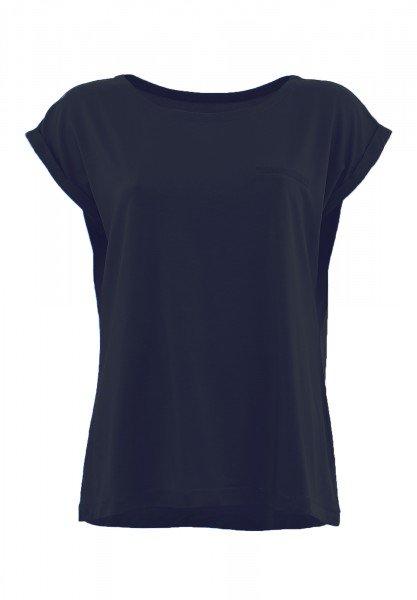 JODELLE: Shirt mit flachem Rundhalsausschnitt