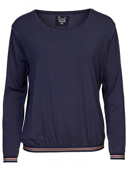 Damen Blusenshirt Glitzerbund Oversize nachhaltige mode online kaufen  KALA