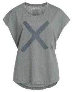 GUTTA: Oversized Damen T-Shirt mit Frontprint