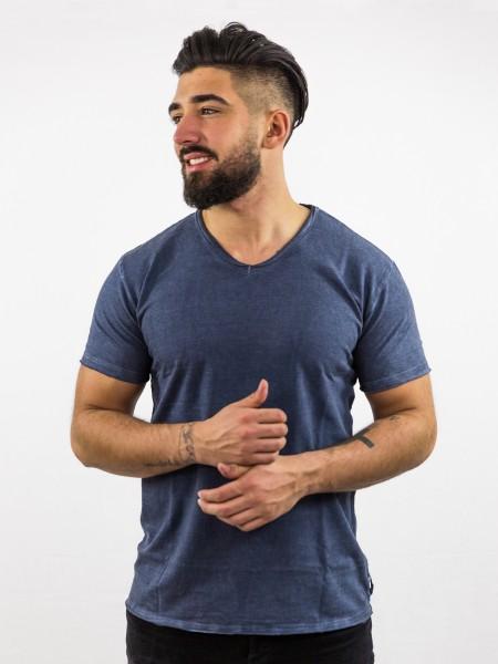 KAI: T-Shirt mit V-Ausschnitt