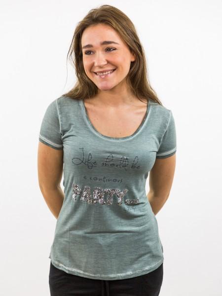 Damen_T-Shirt_Used-Look_Paillettenapplikationen_nachhaltige_mode_online_kaufen_midnight_KARLA