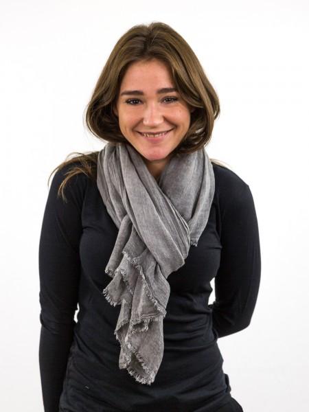 KLOTHILDE: Schal mit Fransen