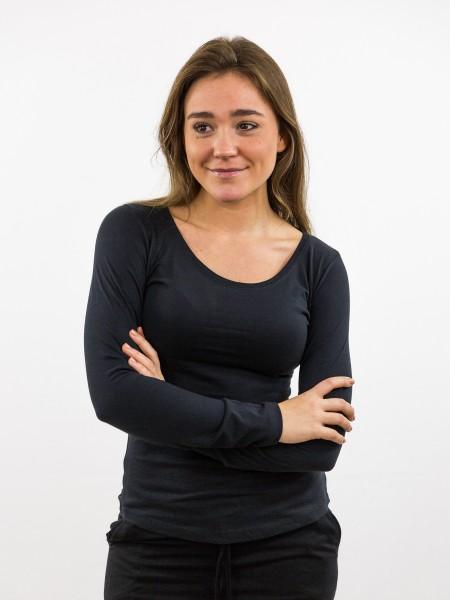 ANN CPD: Longsleeve aus Biobaumwolle