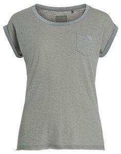 GALINA: Damen T-Shirt mit Lurex Besatz