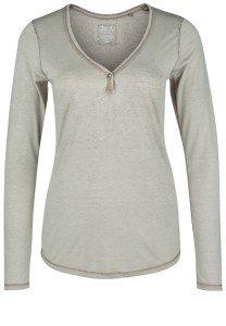 Damen Henley Shirt: Hilka