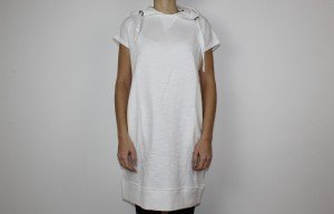 JOELINA: Shirtkleid aus Biobaumwolle